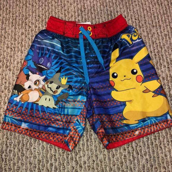 7a0af93c3a Boys Pokémon Swim Trunks. M_5c17d74cc9bf50b0e9b5c9b5